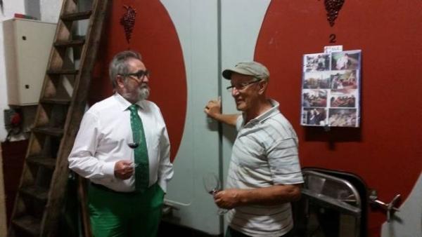Philippe Markey dénicheur de cru avec Raymond Jarousseau, producteur en Margaux